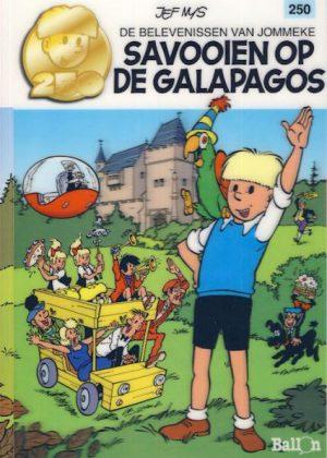De belevenissen van Jommeke 250 – Savooien op de galapagos