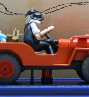 De Jeep, Kuifje en de Zwarte Goud
