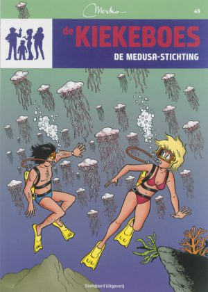 De Kiekeboes 49 – De medusa-stichting