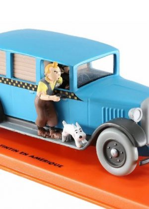 Kuifje in Amerika Taxi Checke 1929r