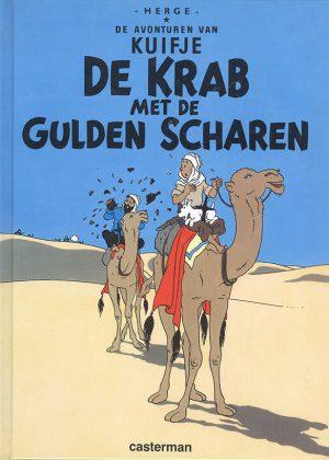 Kuifje - De Krab met de Gulden Scharen (Pocket)