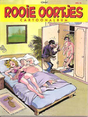 Rooie Oortjes deel 36 Cartoonalbum