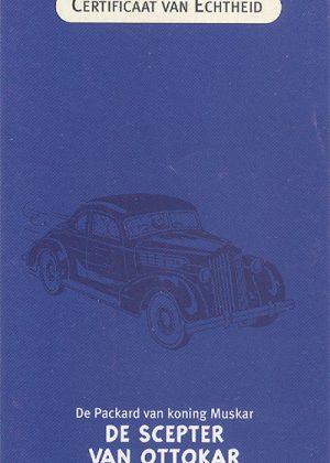 De Packard van koning Muskar uit De Scepter van Ottokar - Atlas 1:43