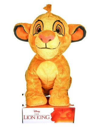 Disney Lion King Jonge Simba Pluche Knuffel. Afmeting 30 cm.