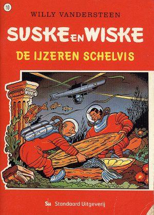 Suske en Wiske 10 - De IJzeren Schelvis (Mini Pocket)