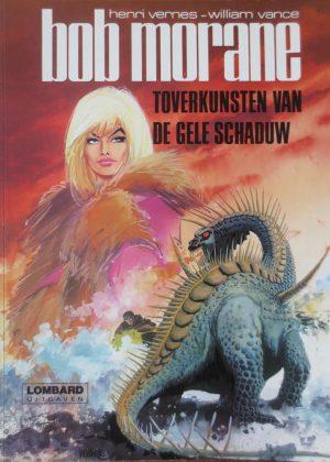 Bob Morane 04 - Toverkunsten van de Gele Schaduw (Hardcover)
