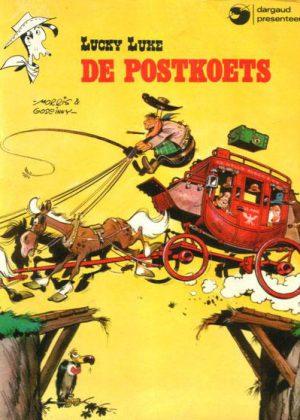 Lucky Luke - De Postkoets (Dargaud)