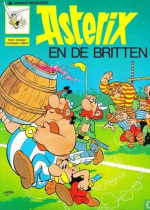 Asterix - En de Britten (groene uitgave)