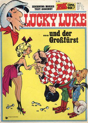 Lucky Luke - und der Großfürst (Duitse uitgave)