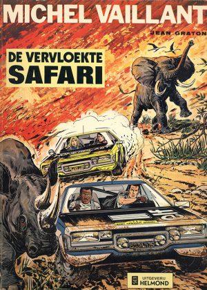 Michel Vaillant - De vervloekte Safari
