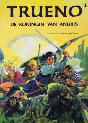 Trueno - De koningin van Anubis