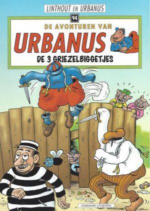 De avonturen van Urbanus - De 3 griezelbiggetjes