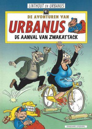 De avonturen van Urbanus - De aanval van Zwakattack