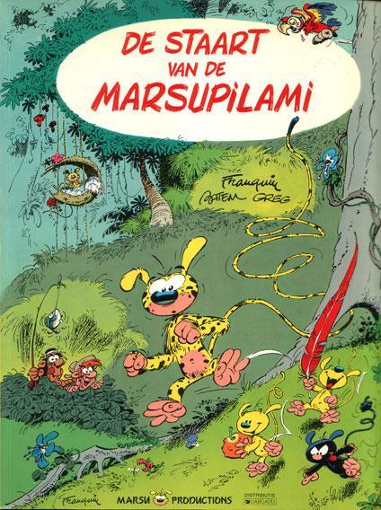 Marsupilami - De staart van de Marsupilami