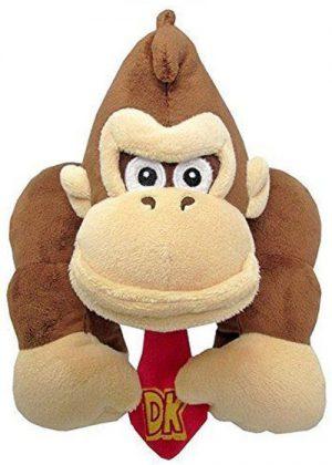 Merk: Little Buddy Donkey Kong kan heel erg lui zijn, maar ook houdt hij van een goed avontuur! Al staat hij normaal bekend om de tonnen die hij van de trap gooit, met deze knuffel laat de supersterke aap zijn zachte kant zien.