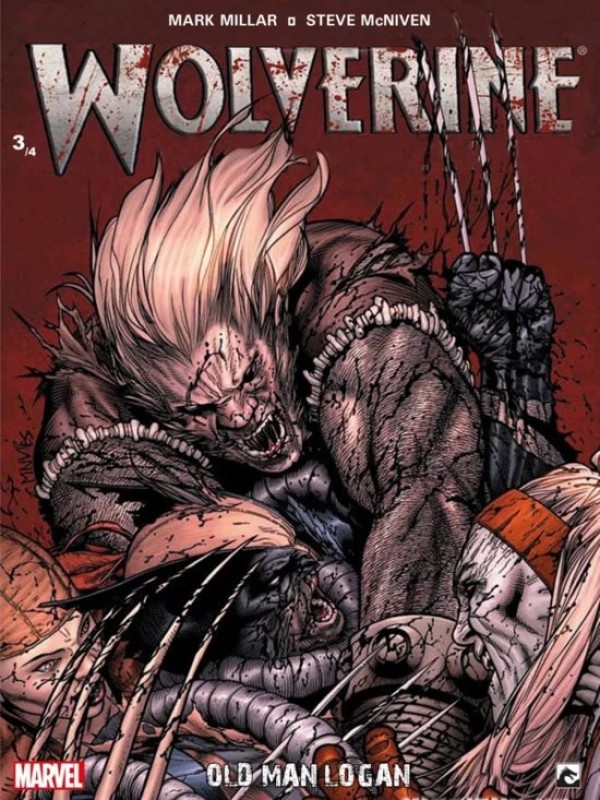 Wolverine 3/4 - Old Man Logan