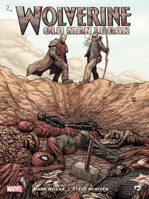 Wolverine 2/4 - Old Man Logan