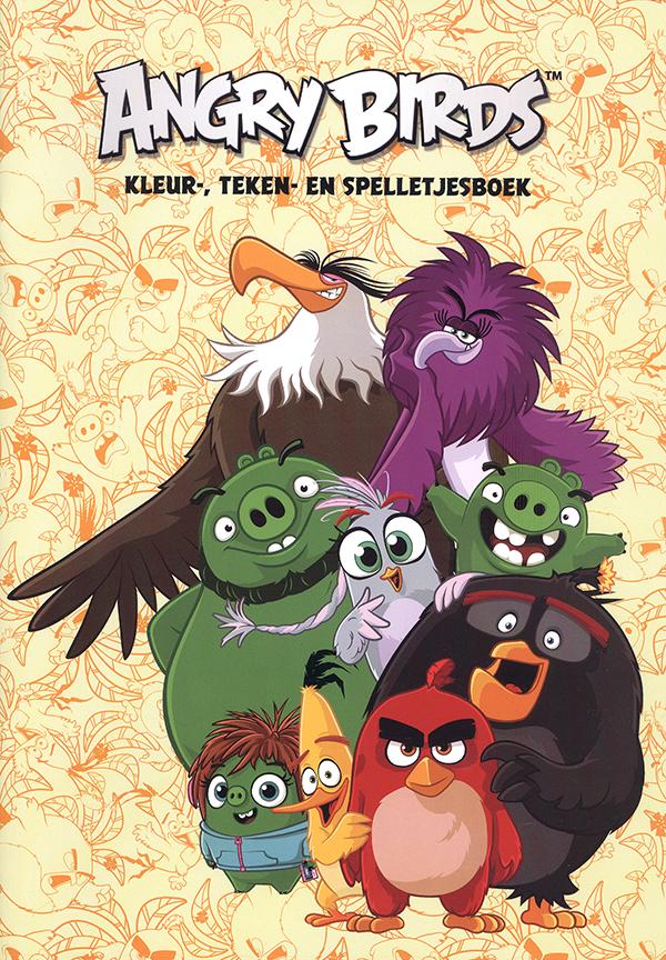 Angry Birds Spelletjesboek (Geel)