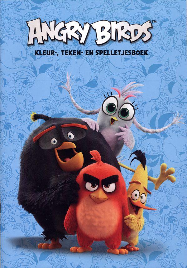 Angry Birds Spelletjesboek (Blauw)