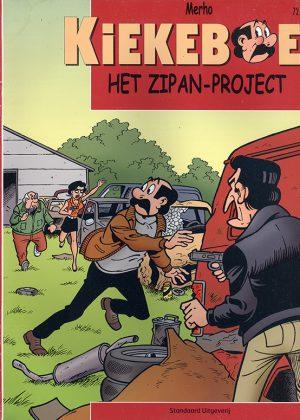 Kiekeboe 72 - Het Zipan-Project