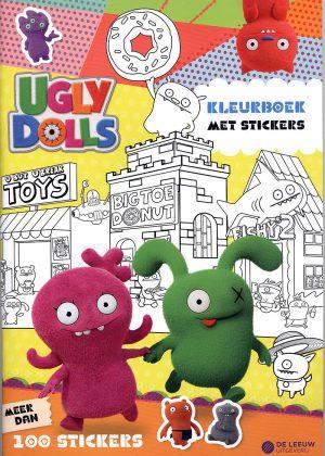 Ugly Dolls - Kleurboek met stickers