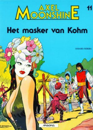 Axel Moonshine 11 - Het masker van Kohm