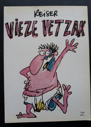 Reiser - Vieze vetzak (1e druk 1983)