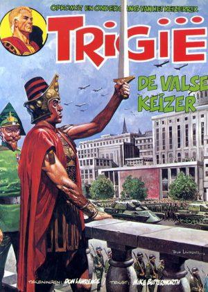 Trigië 21 - De valse keizer (1e druk 1979)