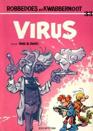 Robbedoes en Kwabbernoot 33 - Virus