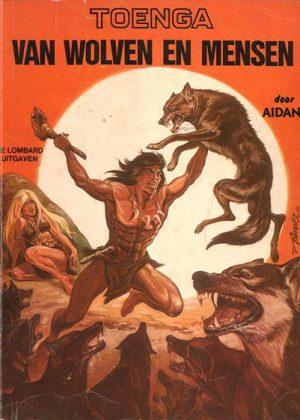 Toenga - Van wolven en mensen (1e druk 1975)