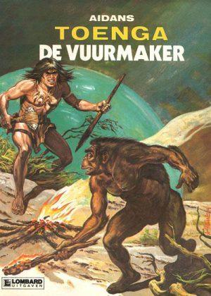 Toenga - De vuurmaker (1e druk 1982)