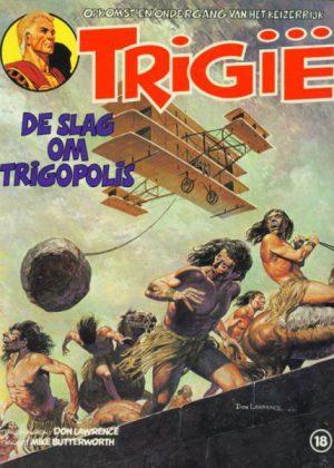 Trigië 18 - De slag om Trigopolis (1e druk 1981)