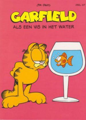 Garfield deel 107 - Als een vis in het water