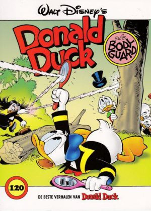 Donald Duck 120 – Als bodyguard (zgan)