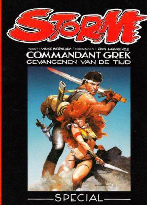 Storm - Commandant Grek, gevangenen van de tijd