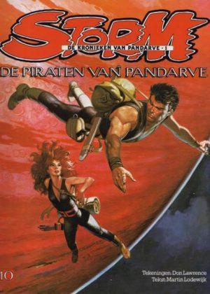 Storm 10 - De piraten van Pandarve (1e Druk)