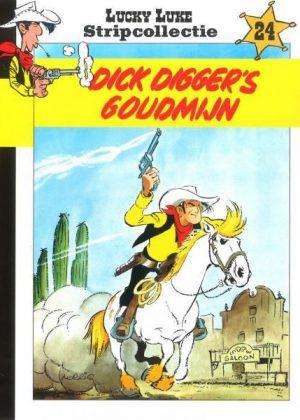Lucky Luke Stripcollectie 24 - Dick Digger's Goudmijn