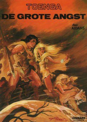 Toenga - De grote angst (1e druk 1976)