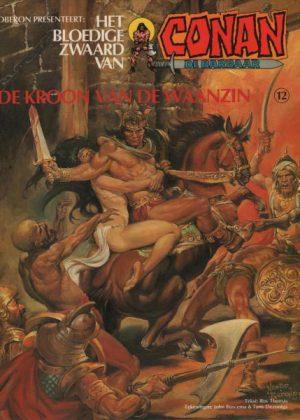 Conan 12 - De kroon van de waanzin