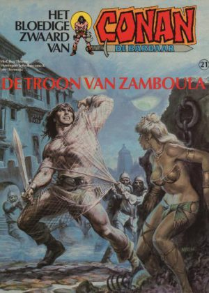 Conan 21 - De troon van Zamboula