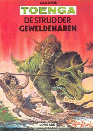 Toenga - De strijd der geweldenaren (herdruk 1977)