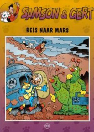 Samson en Gert 11 - Reis naar mars