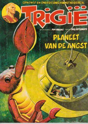 Trigië 10 - Planeet van de angst