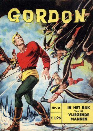 Flash Gordon 2 - In het rijk van de vliegende mannen (1e druk)