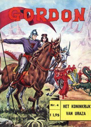Flash Gordon 4 - Het koninkrijk van Uraza (1e druk)