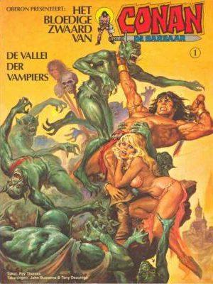 Conan 1 - De vallei der vampiers