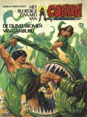 Conan 5 - De duivelsbomen van Gamburu