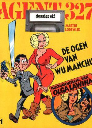 Agent 327 - De ogen van Wu Manchu