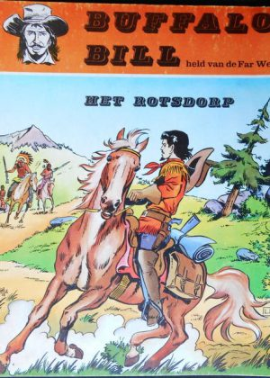 Buffalo Bill 6 - Het rotsdorp (1ste Druk 1968)
