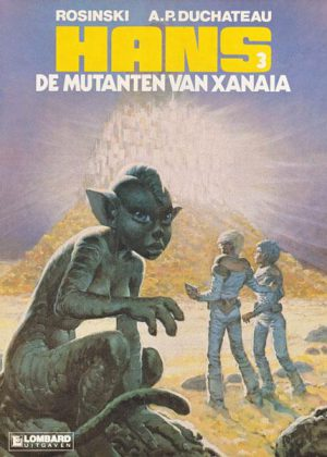 Hans 3 - De mutanten van Xanaïa